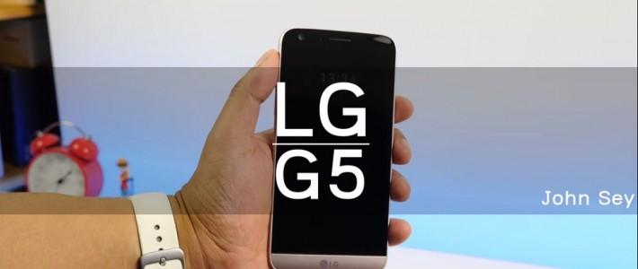 ការបង្ហាញលក្ខណៈសម្បត្តិរបស់ LG G5!
